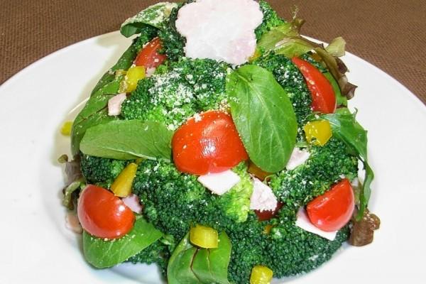 クリスマスツリーハムポテトサラダ
