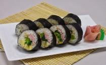 洋風菜の花巻き寿司