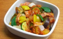 ベーコンと夏野菜のラタトゥイユ