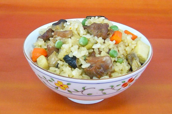 中華風たけのこご飯
