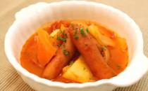 ウインナーのトマトシチュー