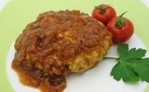 ビーフまるごとハンバーグ(風味豊かなオニオンソース)