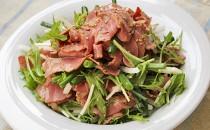 牛タンとシャキシャキ野菜の香味サラダ