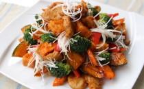 高座豚ヒレ肉のアジアン唐揚(新商品)