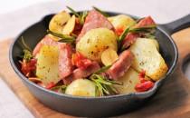 ポテトとソーセージのハーブグリル(新商品)