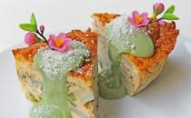 桜と緑茶が薫るオムレツ(新商品)