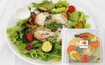 1/3日分の野菜が摂れるグリルチキンのディッシュサラダ