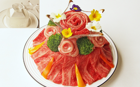 祝!令和 肉ケーキでお祝い焼肉