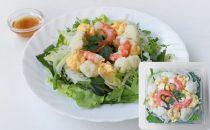 カリフラワー・たまご・海老のディッシュサラダ(1/3日分の野菜が摂れるサラダ)