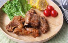 4月の新作レシピ「BBQにもおすすめ がっつりお肉メニュー」