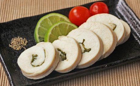 バジル風味の鶏ハム