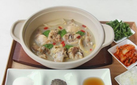 お手軽参鶏湯(サムゲタン)